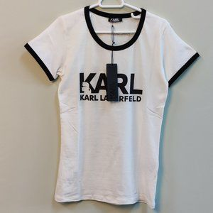 Karl Lagerfeld White T-shirt For Women